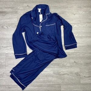 Eberjey Women's Two-Piece Pajama Set Size - M